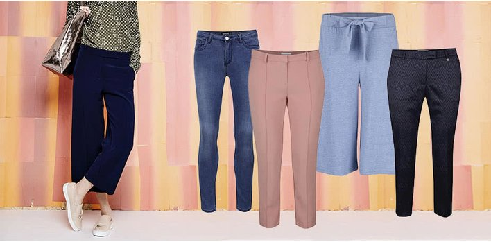 Džíny a kalhoty pro NI