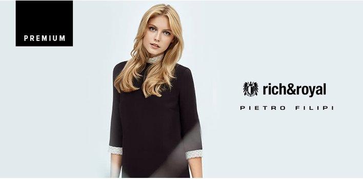 Pietro Filipi + Rich & Royal: O alegere sofisticată