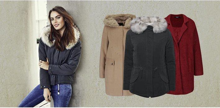 Hřejivé bundy, stylové kabáty ♀