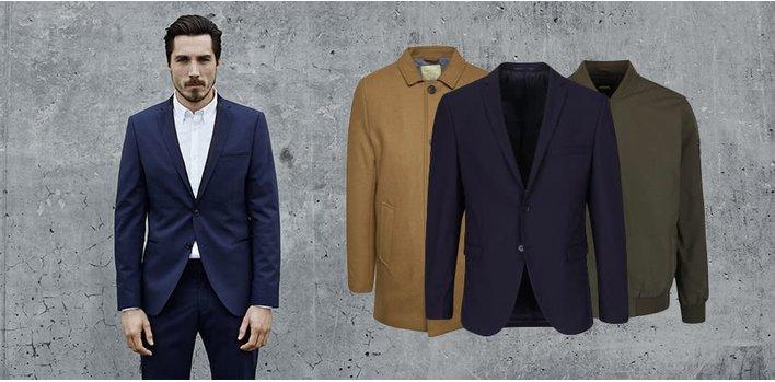Hřejivé bundy, stylové kabáty ♂