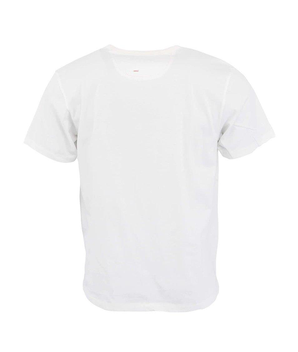 Bílé triko s pirátem HYMN Luther