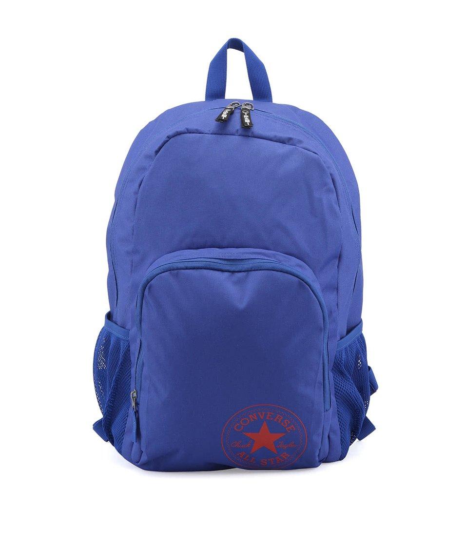 Modrý batoh s červeným logem Converse All In
