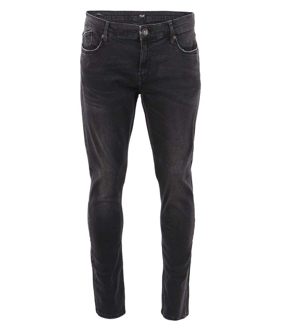 Černé slim džíny ONLY & SONS Fil
