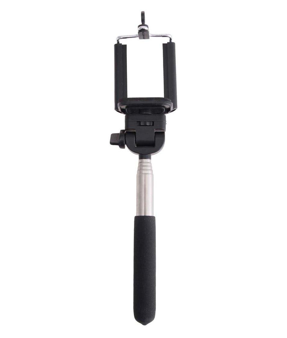 """Černý držák na """"selfie"""" Helio Ferretti"""