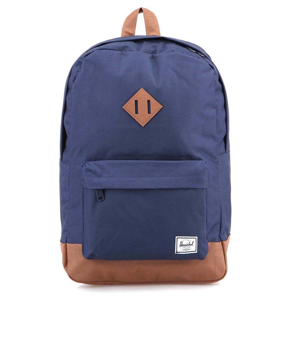 Tmavě modrý batoh Herschel Heritage