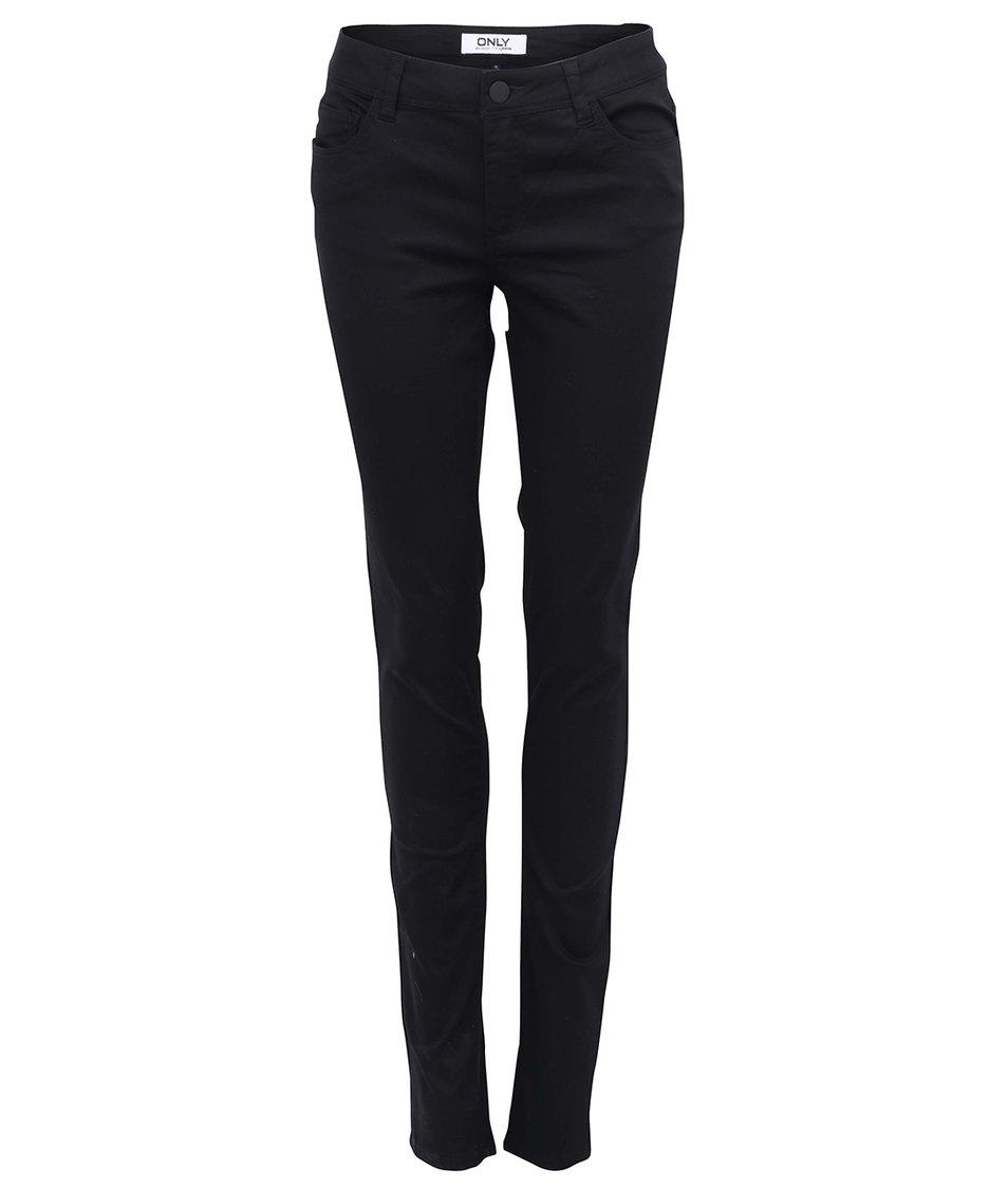 Černé skinny kalhoty ONLY Minna