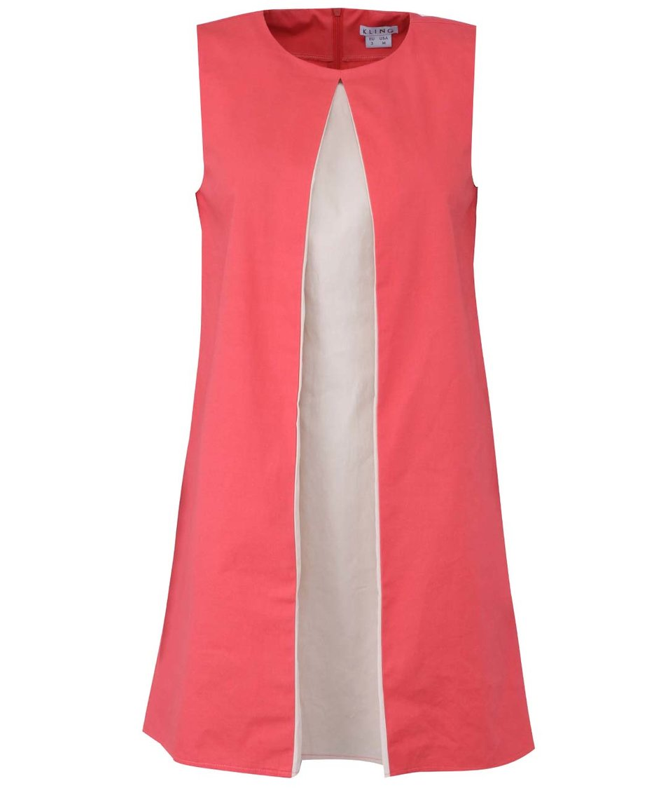 Korálové šaty Kling Citta Druento