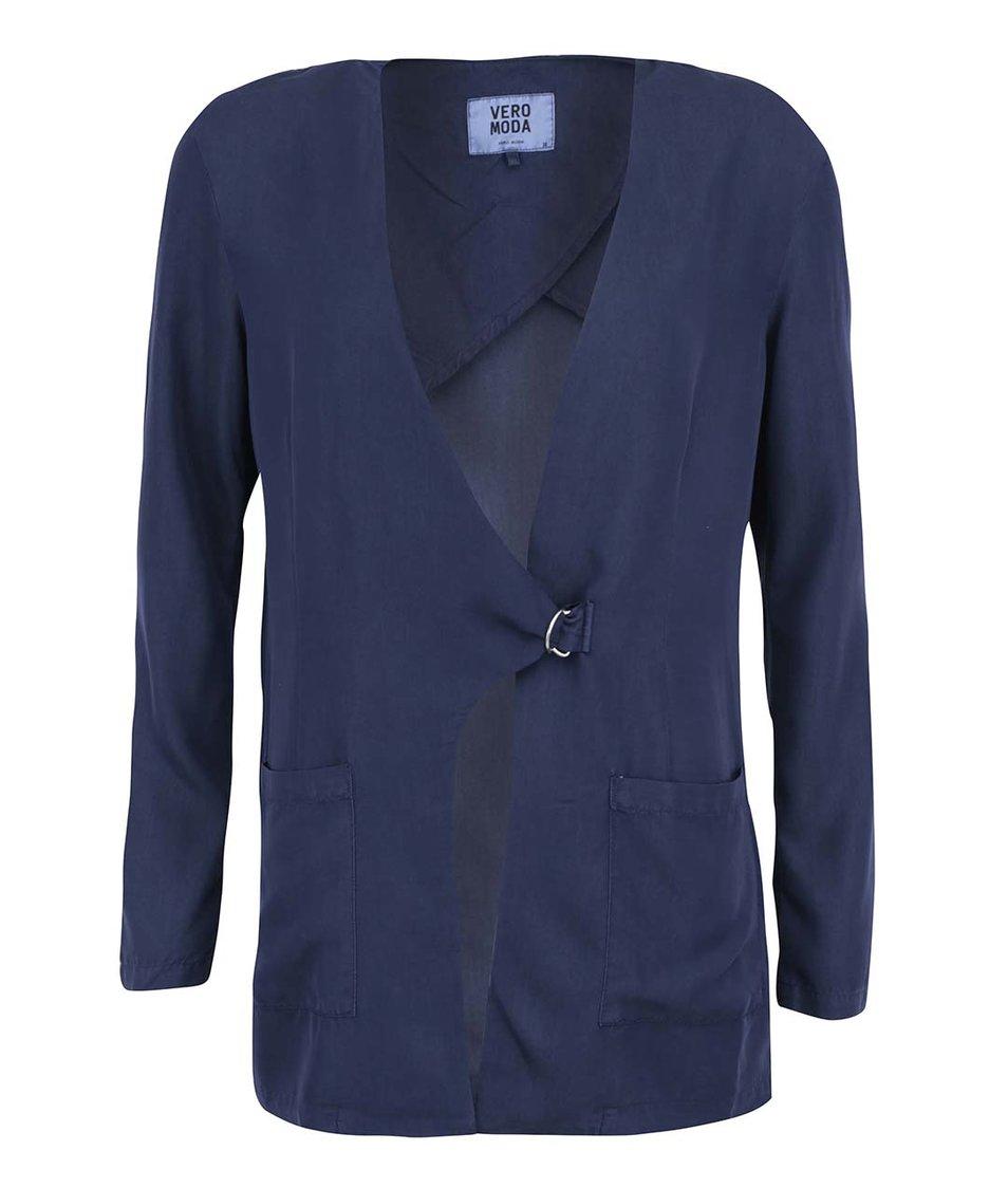 Tmavě modrý blejzr Vero Moda Sussi