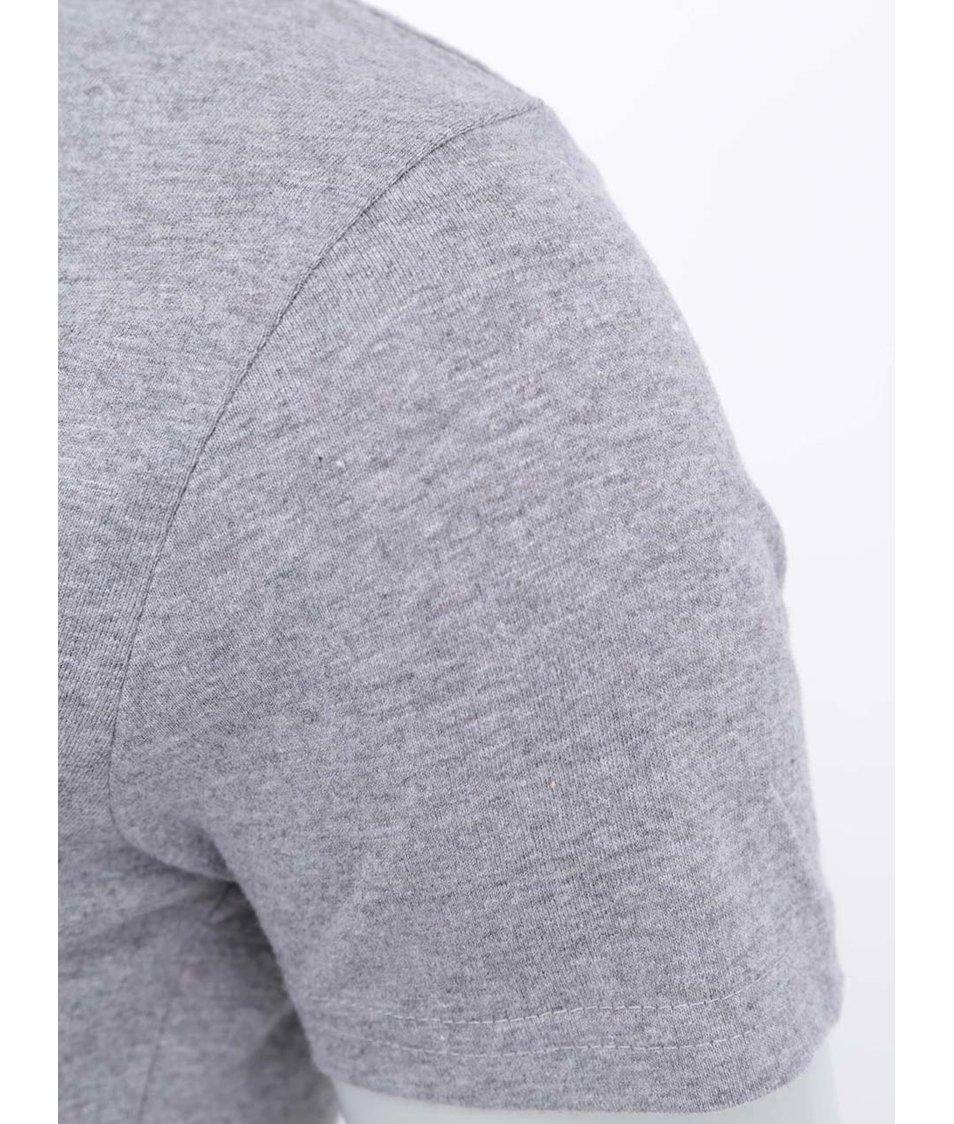 """""""Dobré"""" šedé dámské triko pro Náplavka k světu"""