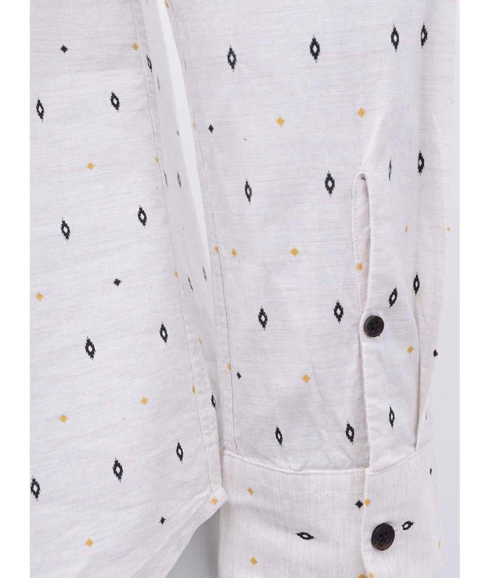 Světle béžová košile se vzorem ONLY & SONS Verner