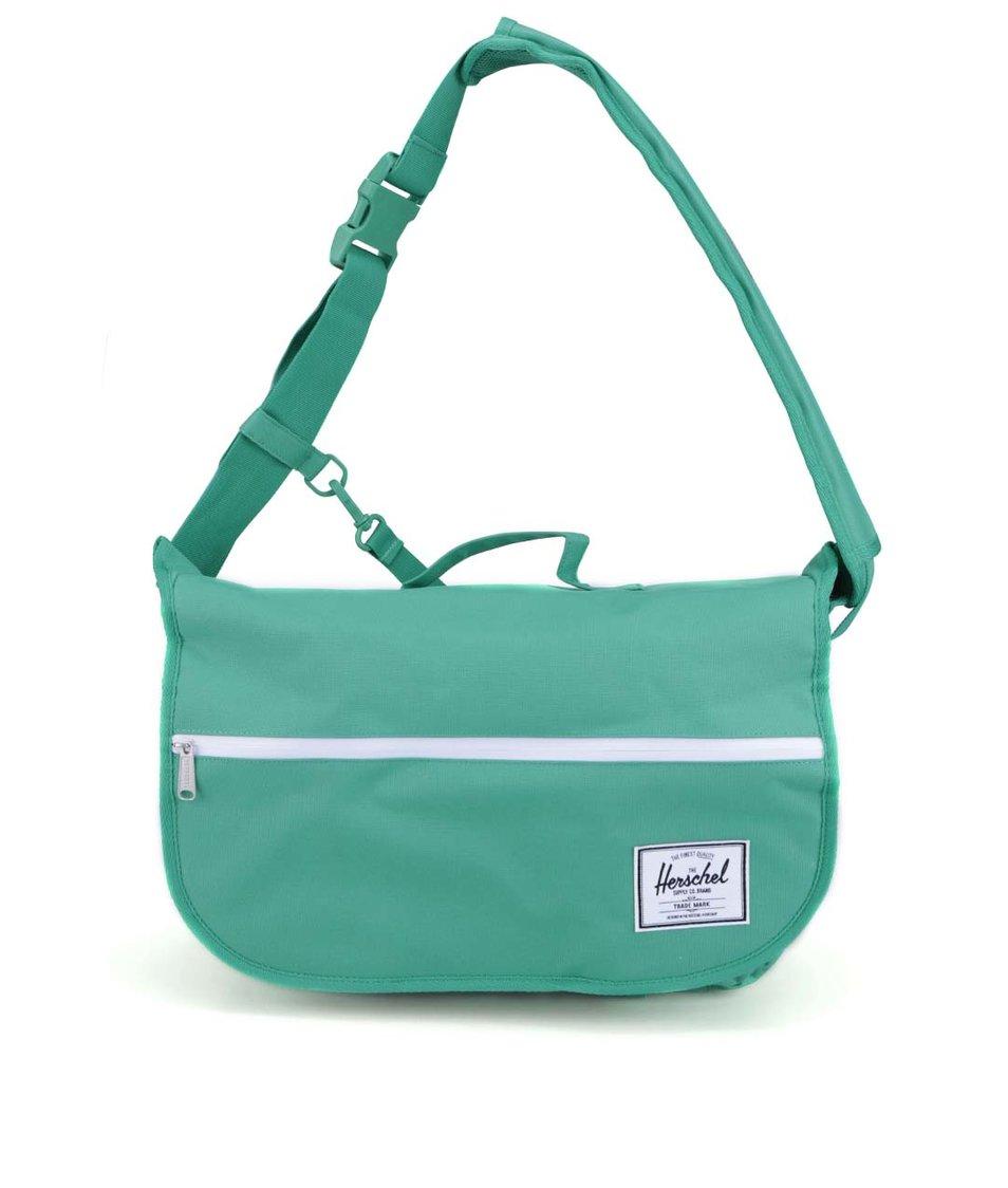 Zelená taška přes rameno Herschel Pop Quiz Messenger