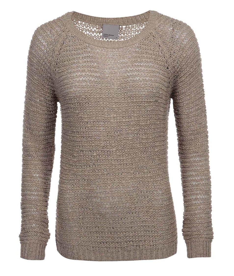 Béžový svetr Vero Moda Verla