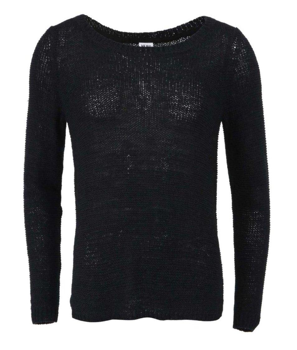 Černý svetr Vero Moda Charity
