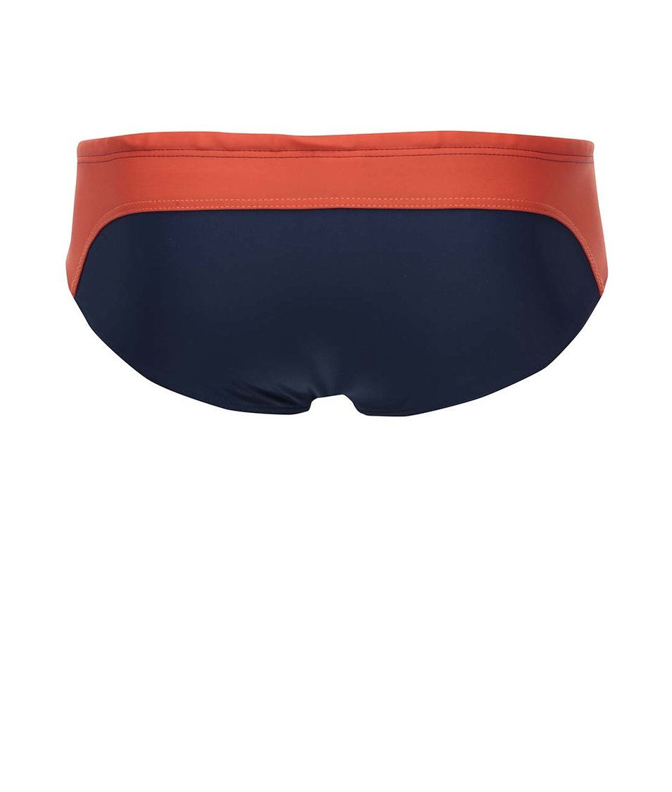 Červeno-modré plavky klasického střihu aussieBum Kirra