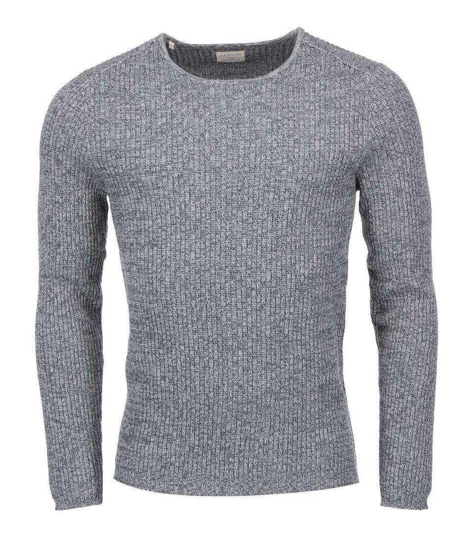 Tmavě šedý svetr Selected Homme Keen