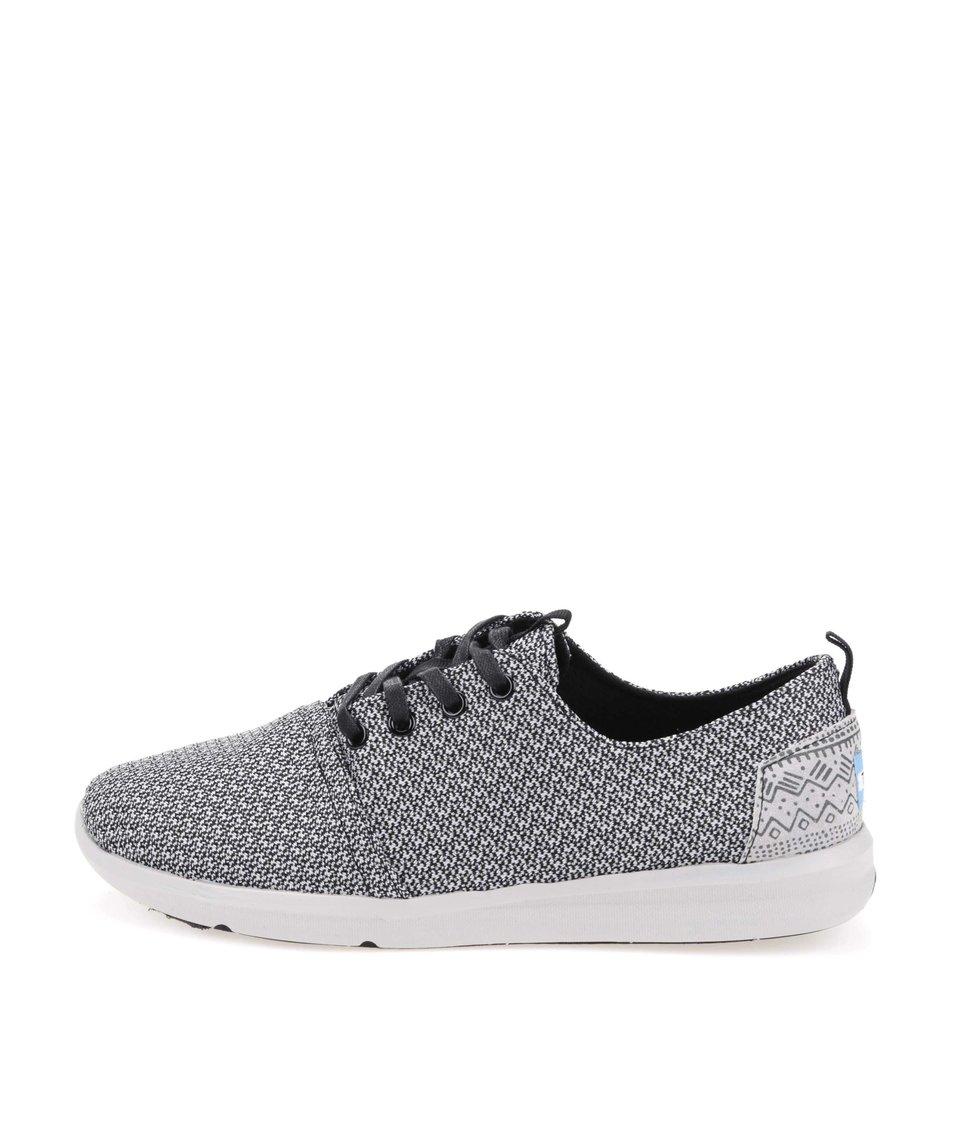 Šedé vzorované pánské tenisky TOMS  Viaje Sneaker