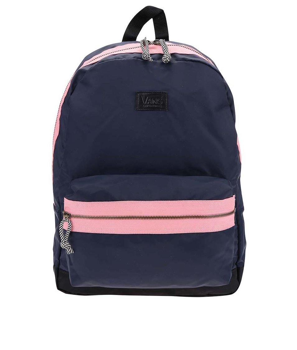 Růžovo-modrý batoh Vans Cameo