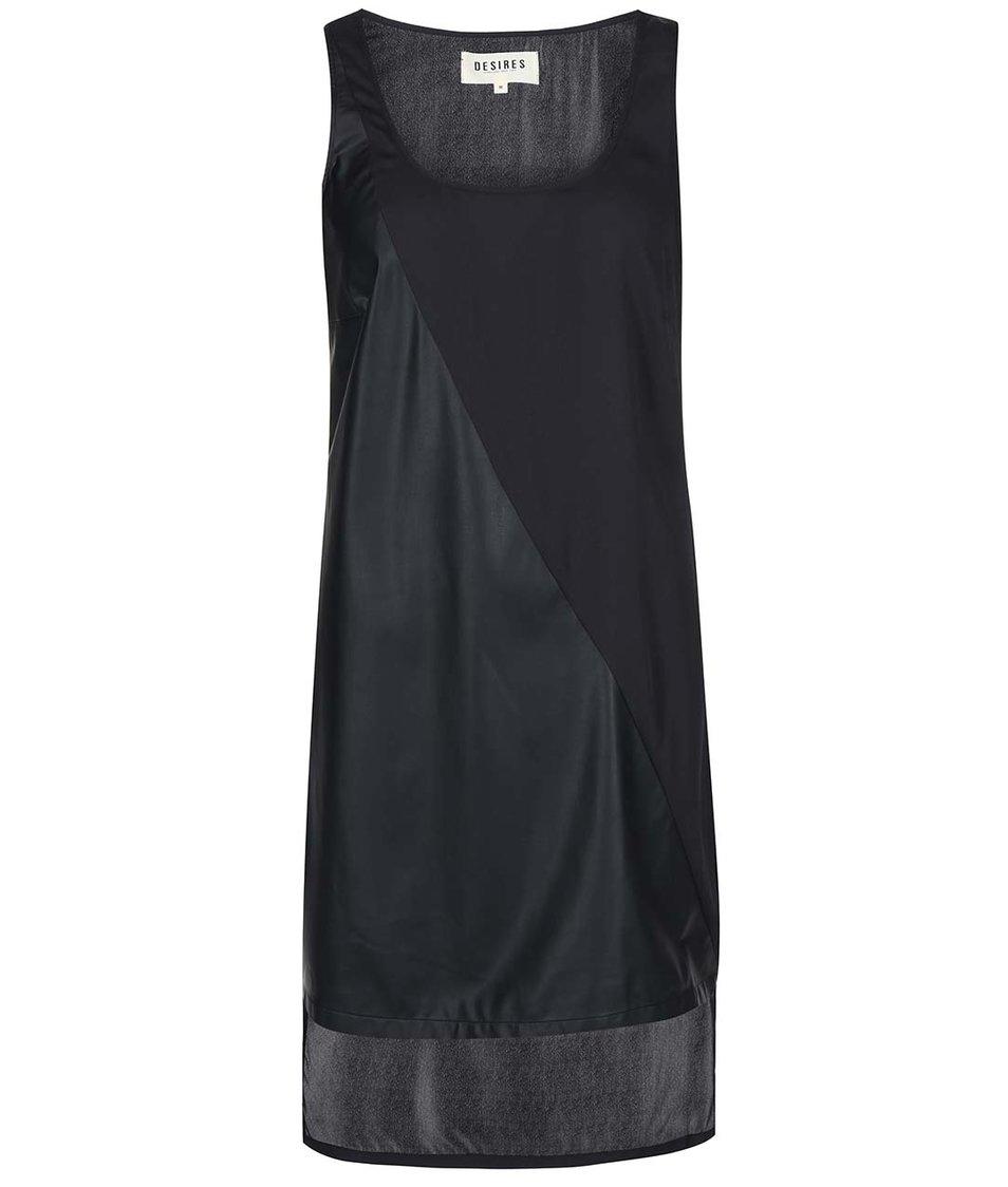 Černé asymetrické šaty Desires Lisan