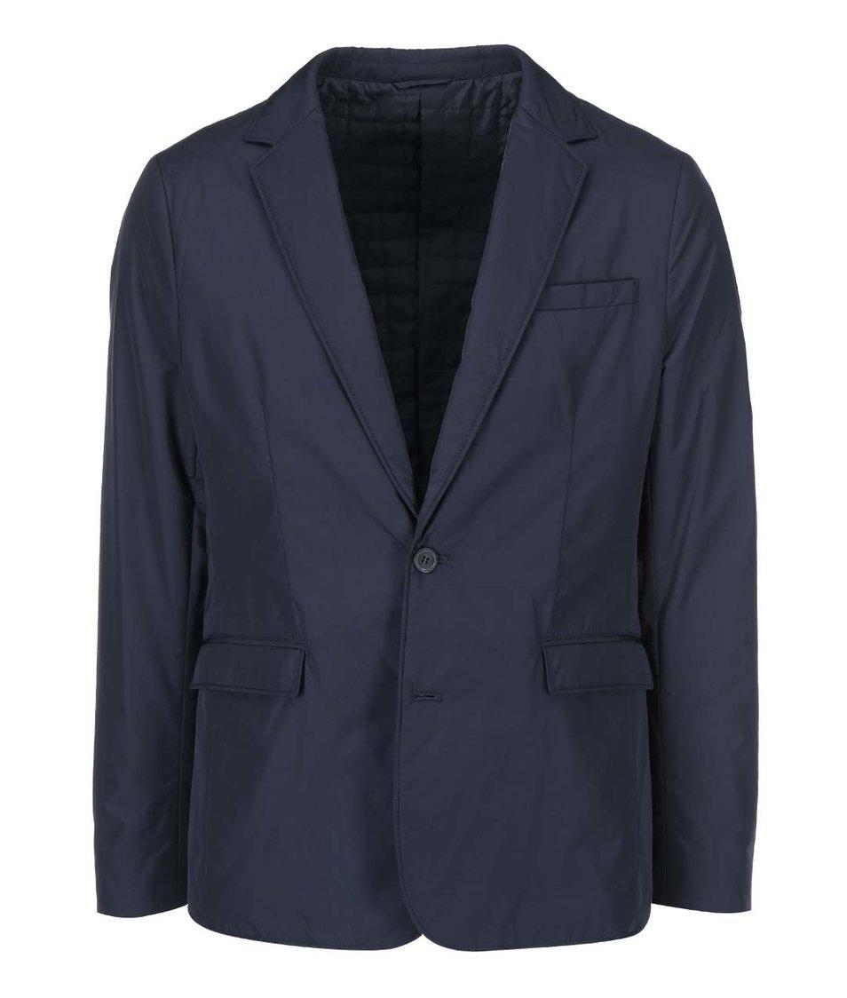 Tmavě modrá bunda à la sako Selected Homme Hill