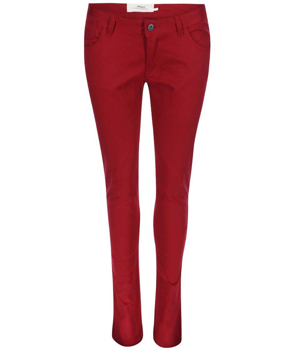 Červené skinny kalhoty Skunkfunk Naomi