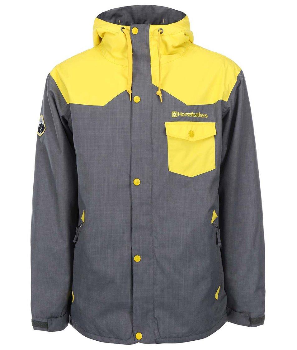 Žluto-šedá pánská bunda Horsefeathers Paul