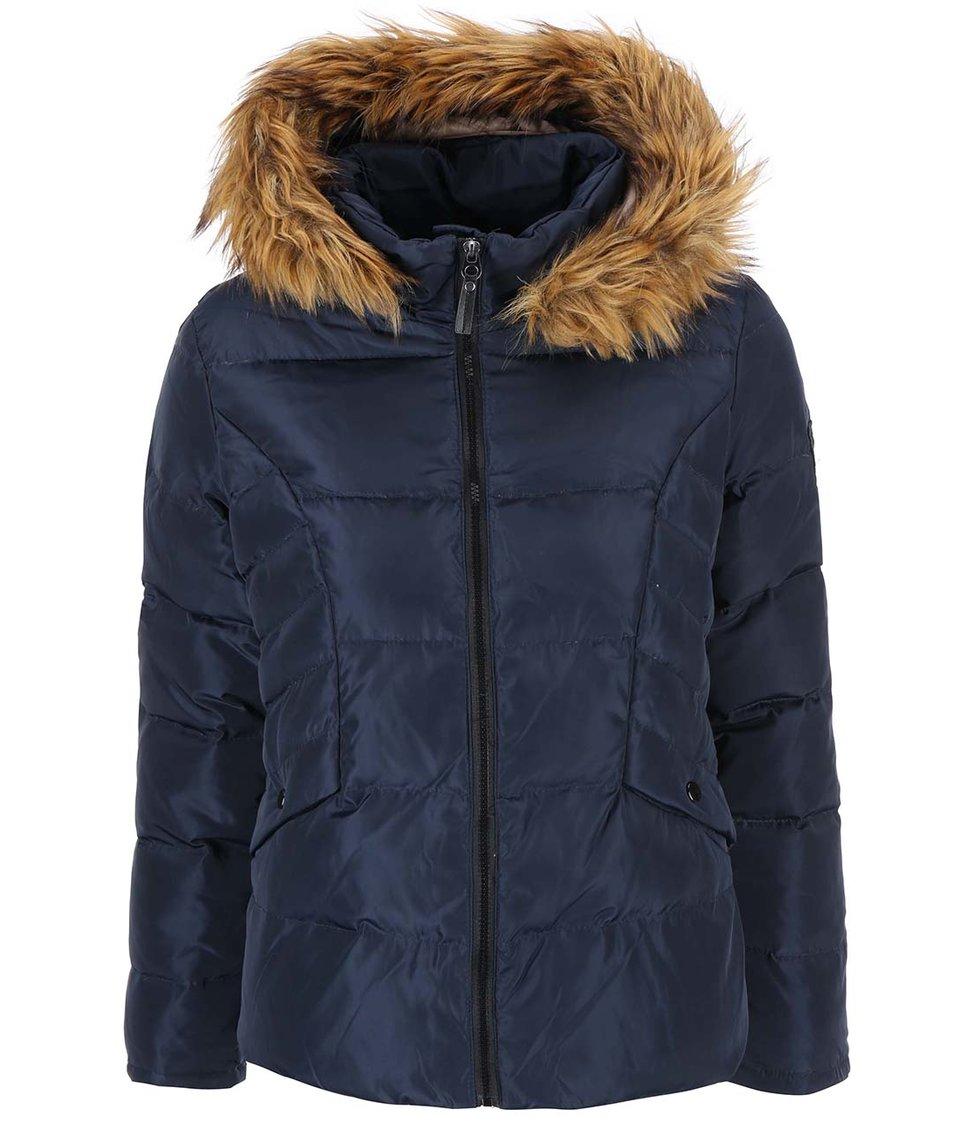 Tmavě modrá bunda s kapucí Vero Moda Kelly