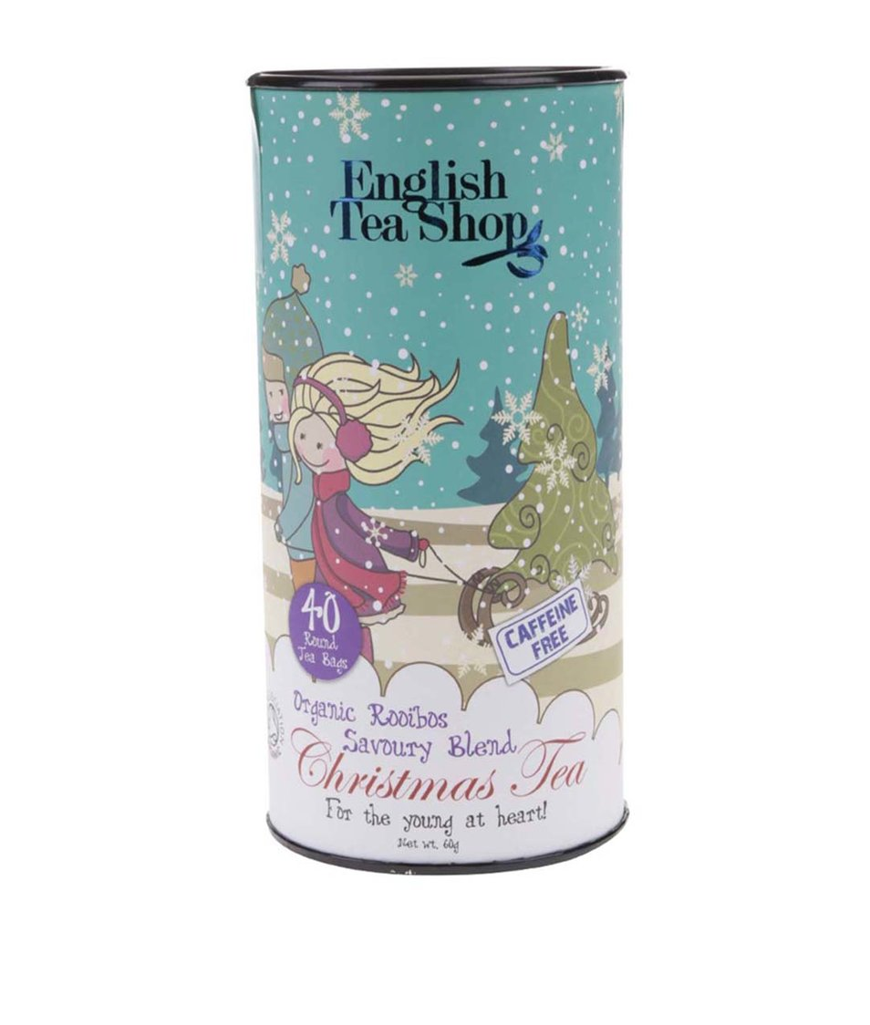 Bezkofeinový sypaný čaj English Tea Shop Pikantní směs
