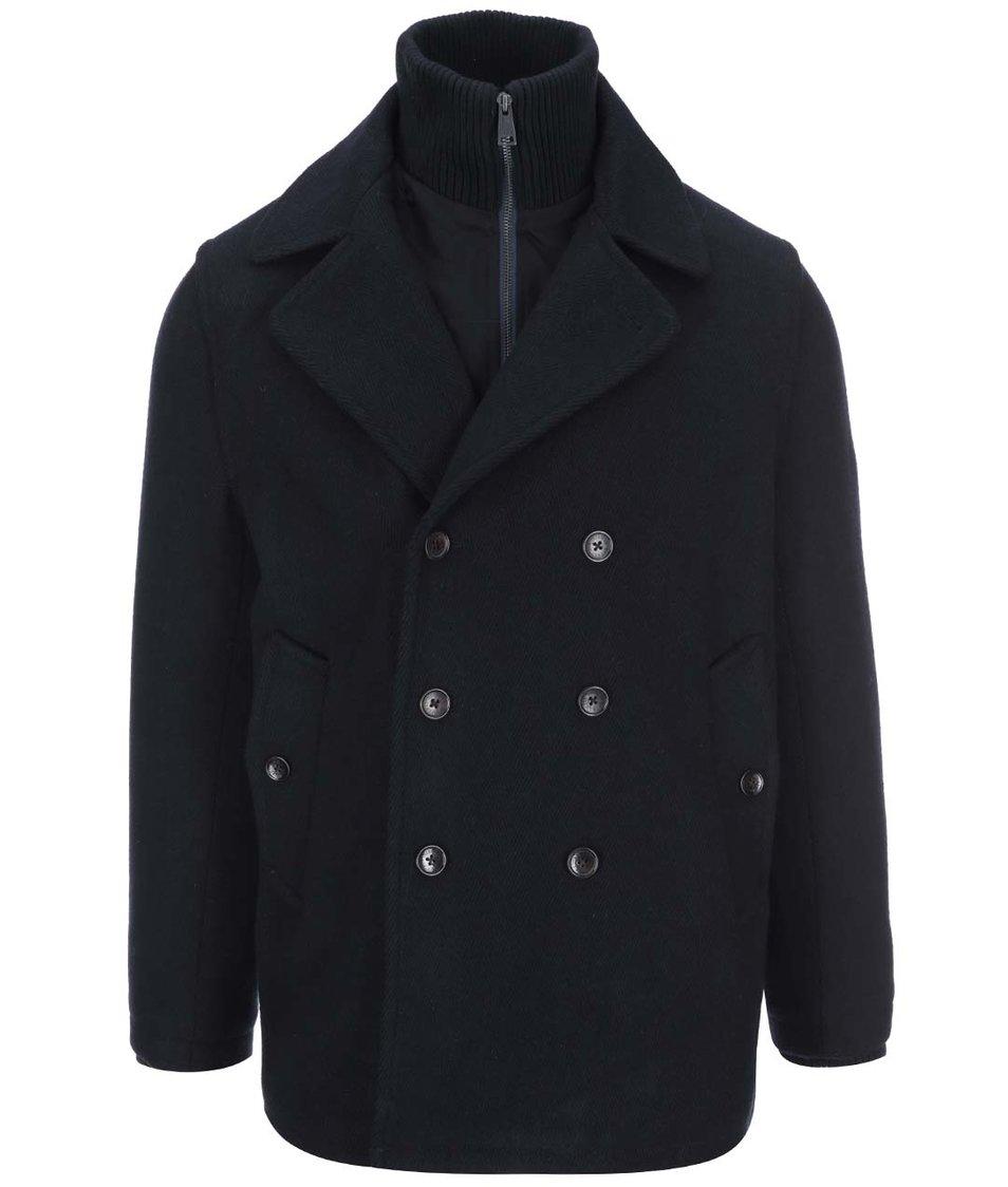 Tmavě modrý krátký kabát Ben Sherman