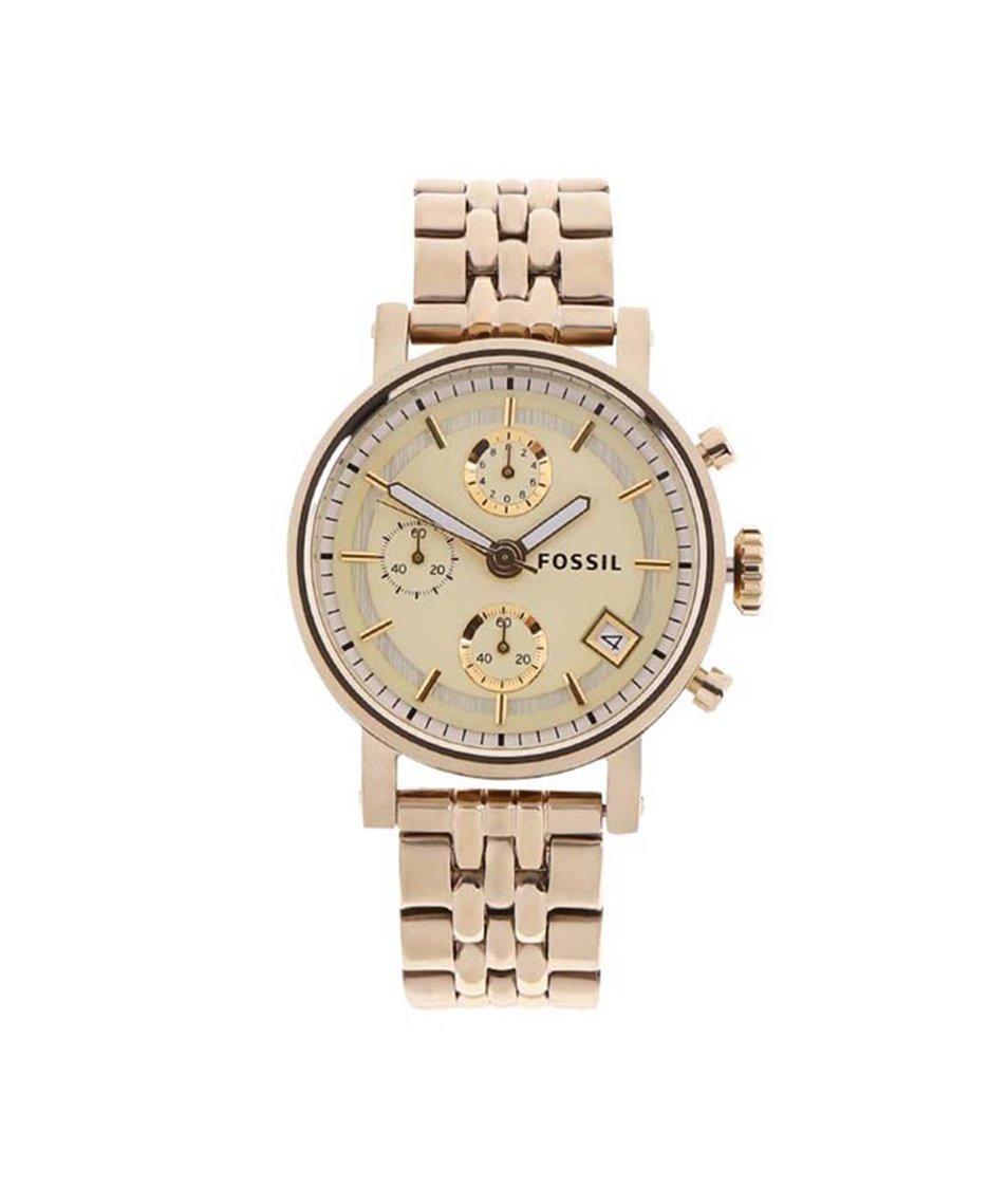 Dámské hodinky ve zlaté barvě Fossil Original Boyfriend