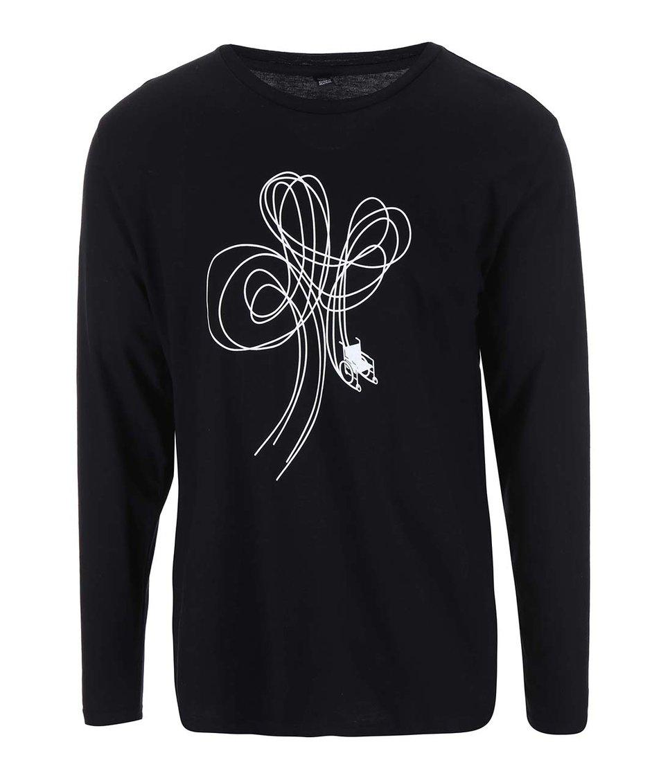 """""""Dobré"""" čierne pánske tričko pre Paraple"""