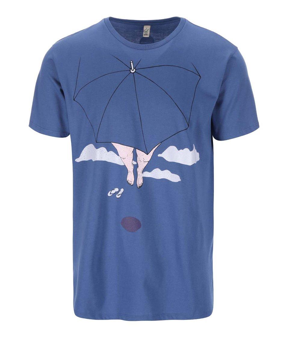 """Dobré"" modré pánské triko pro Paraple"