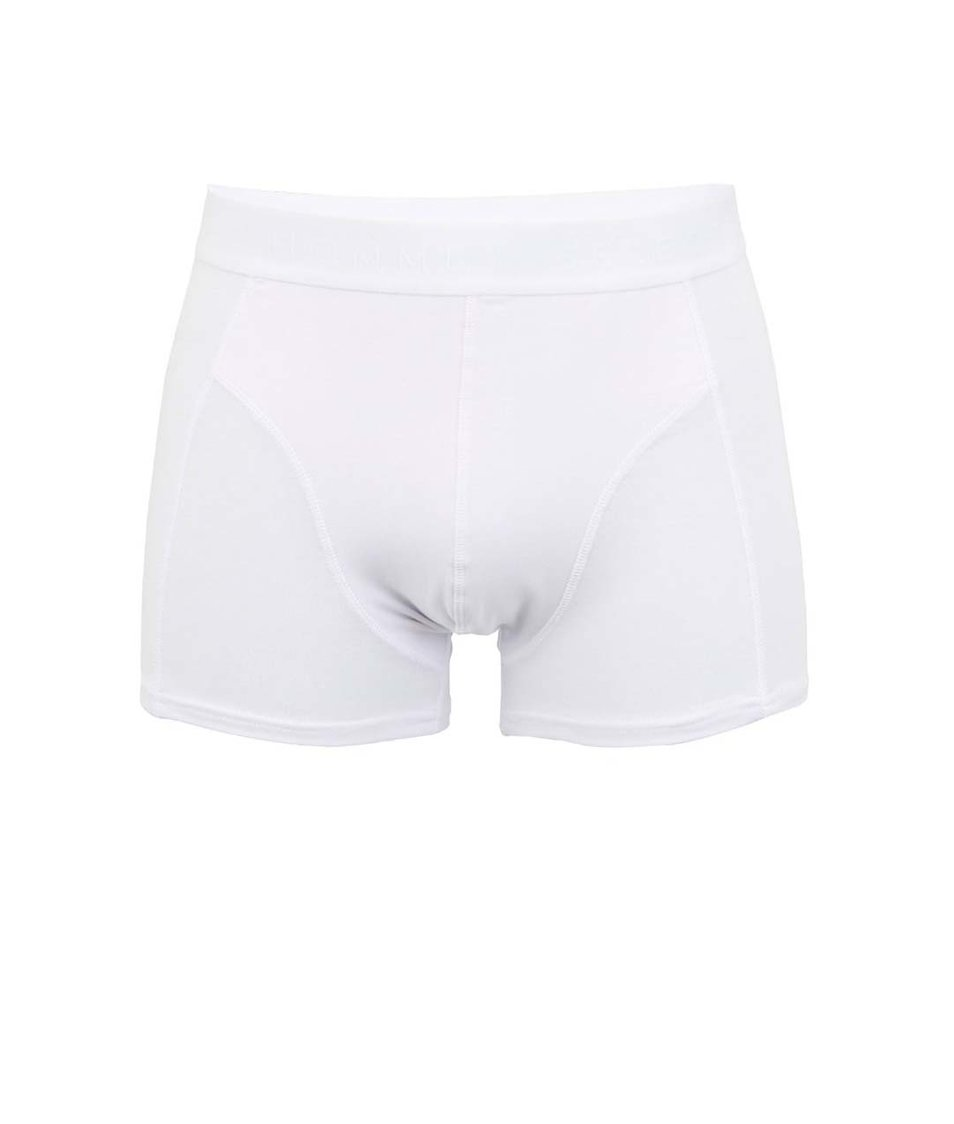 Bílé boxerky Selected Homme Basic