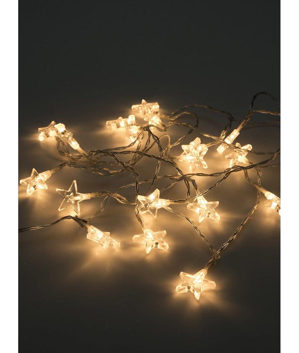 Delší světelný řetěz s hvězdami Sirius Melanie
