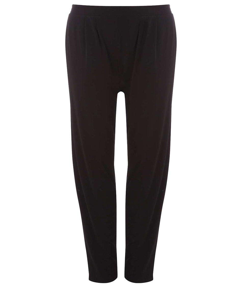 Černé volnější kalhoty Dorothy Perkins Curve