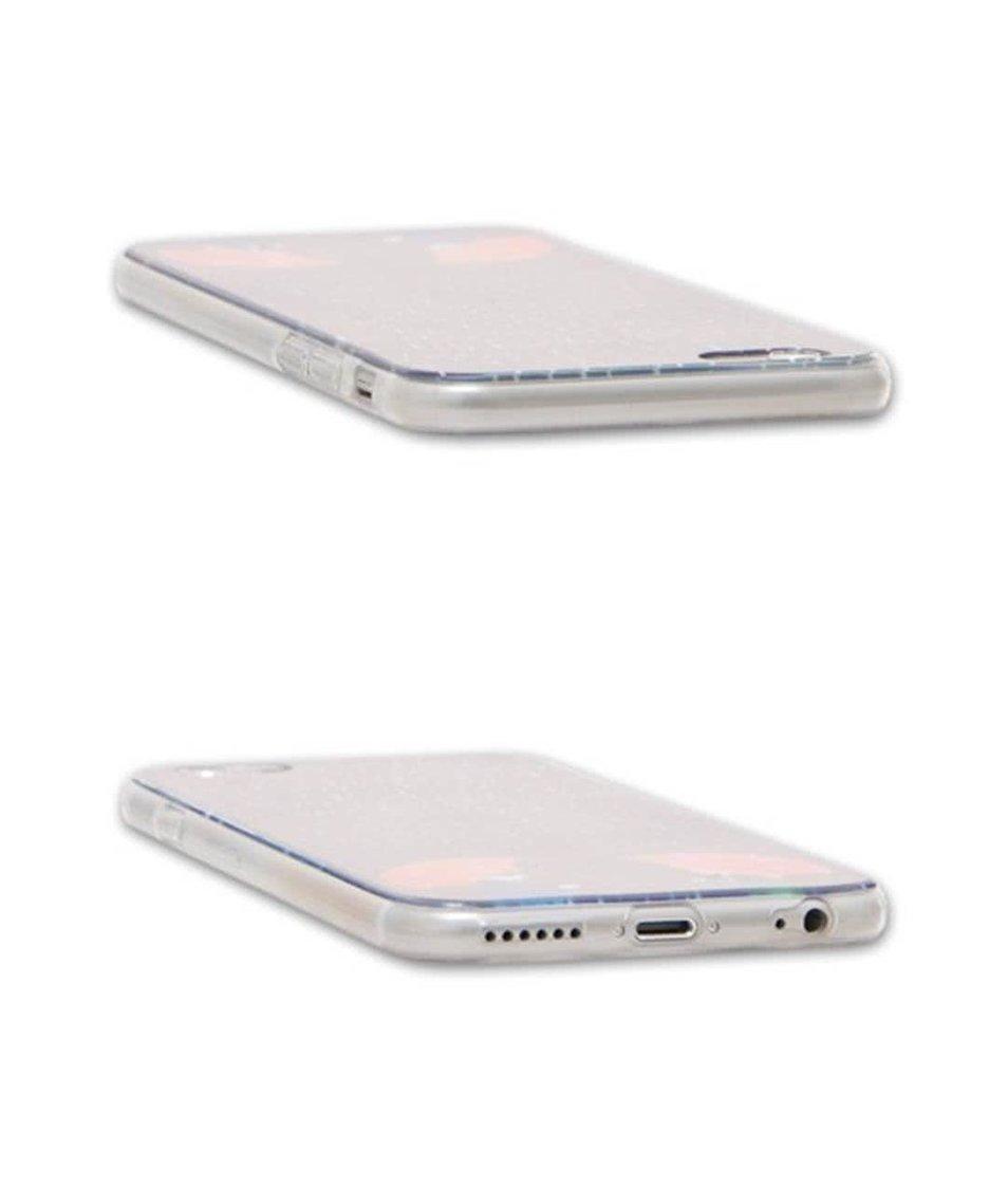 Modrý ochranný kryt na iPhone 6/6s Epico In The Rain