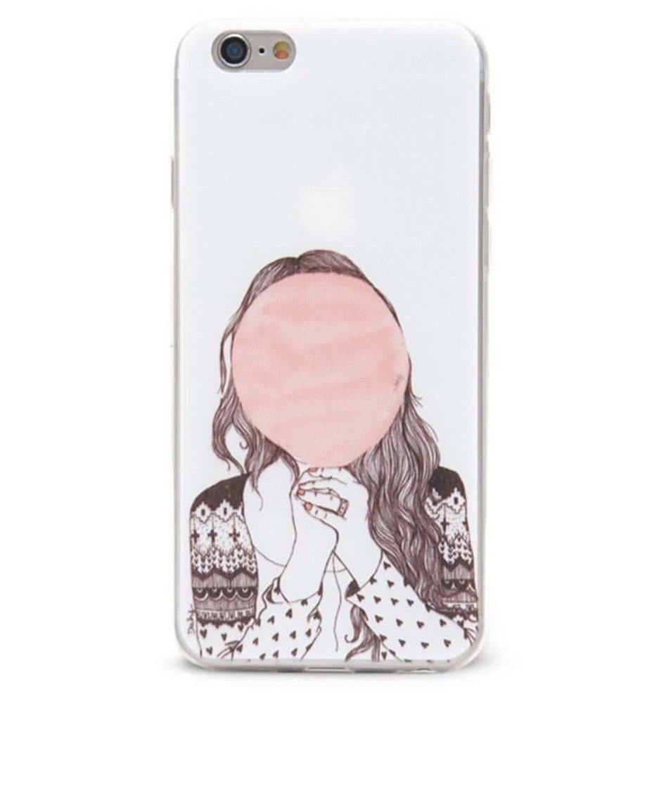 Bílý ochranný kryt na iPhone 6/6s Epico Hiding