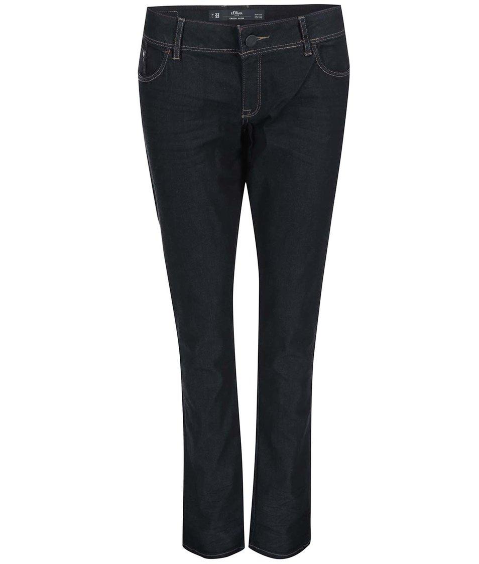 Tmavě modré džíny s.Oliver
