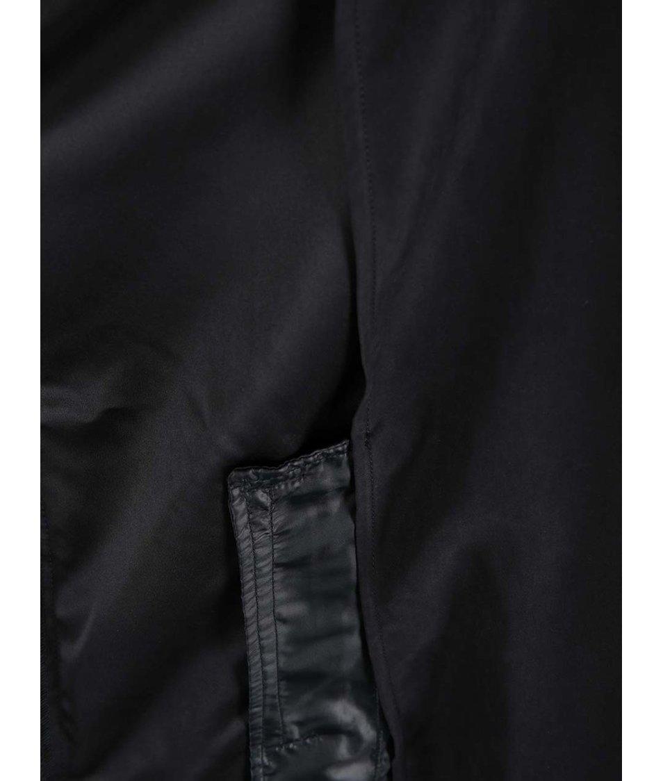 Černý trenčkot Vero Moda Tonia