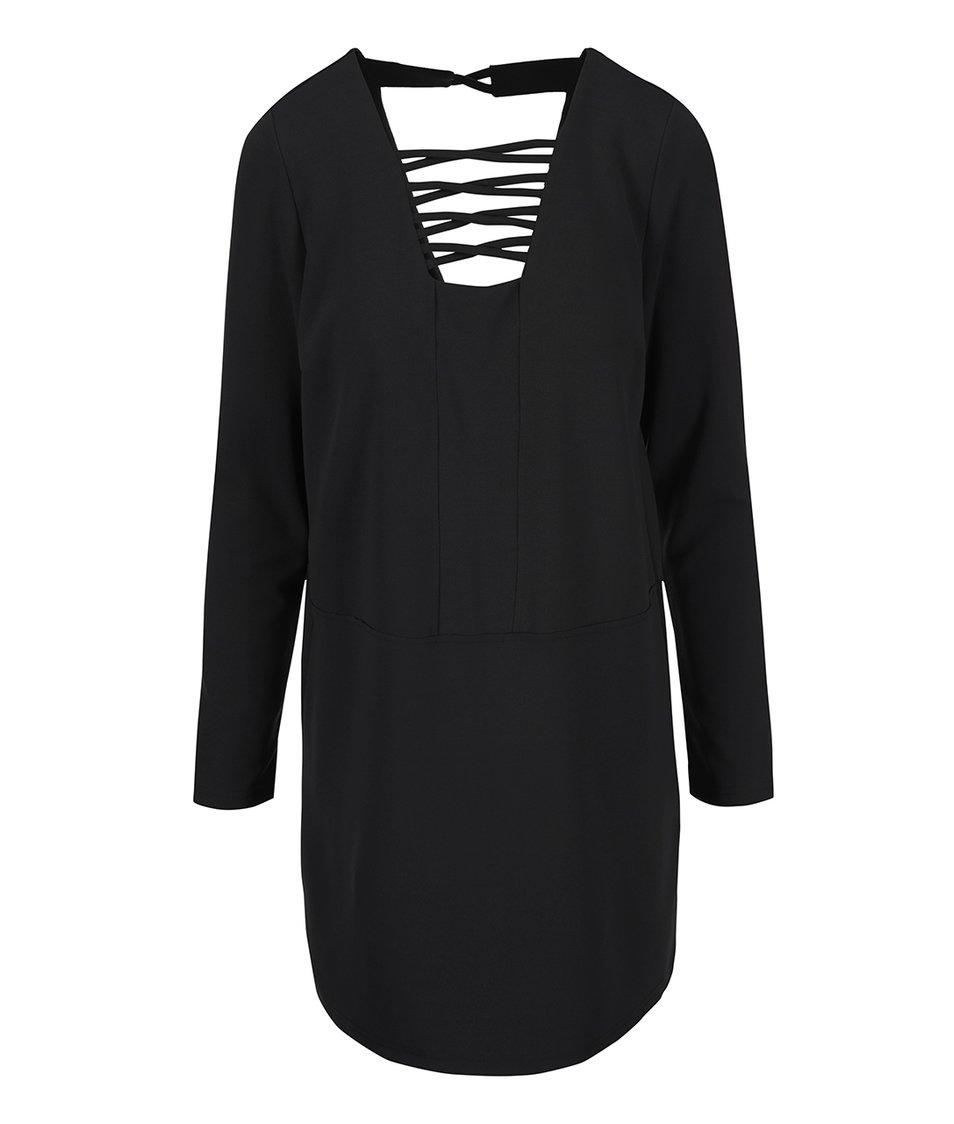 Černé šaty Vero Moda Tuline