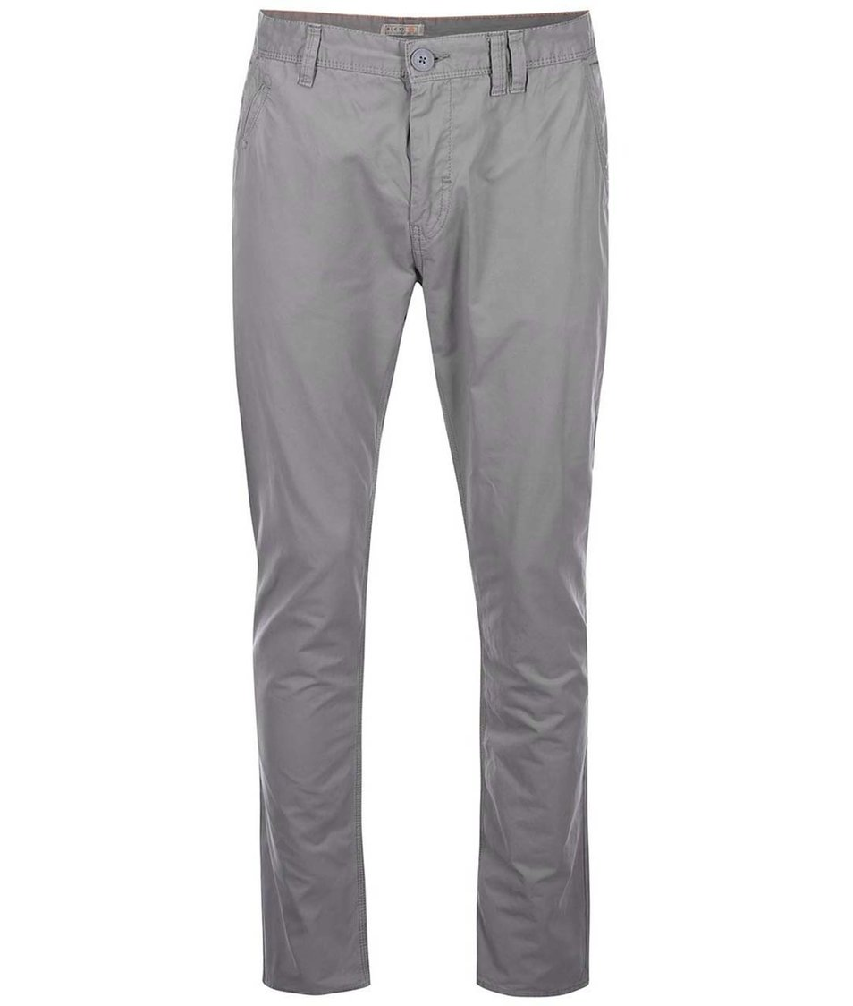 Šedé chino kalhoty Blend Slim Fit