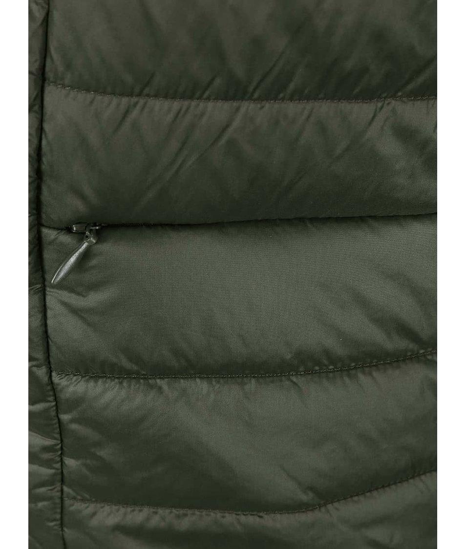 Khaki prošívaná bunda Vero Moda Fanna