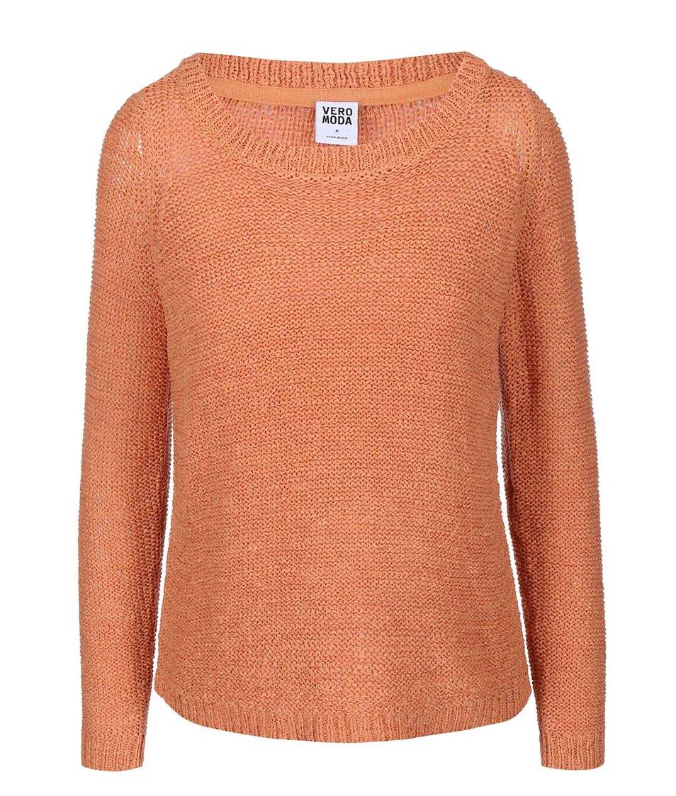 Meruňkový svetr Vero Moda Charity