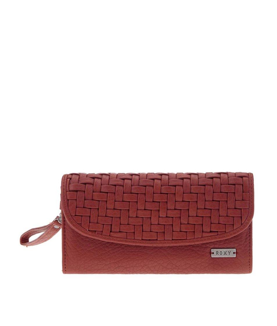 Červená peněženka Roxy Playa Blanca