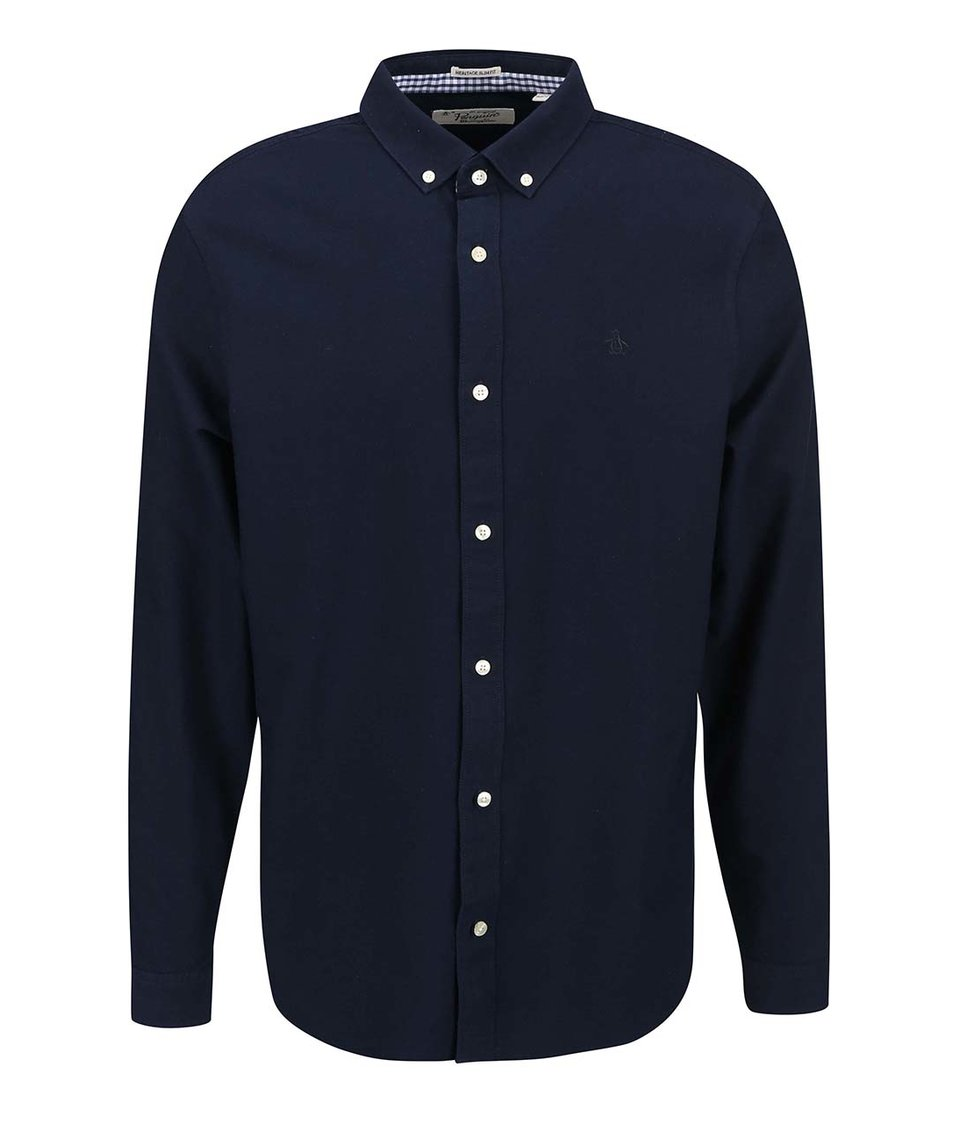 Tmavě modrá košile Original Penguin Core