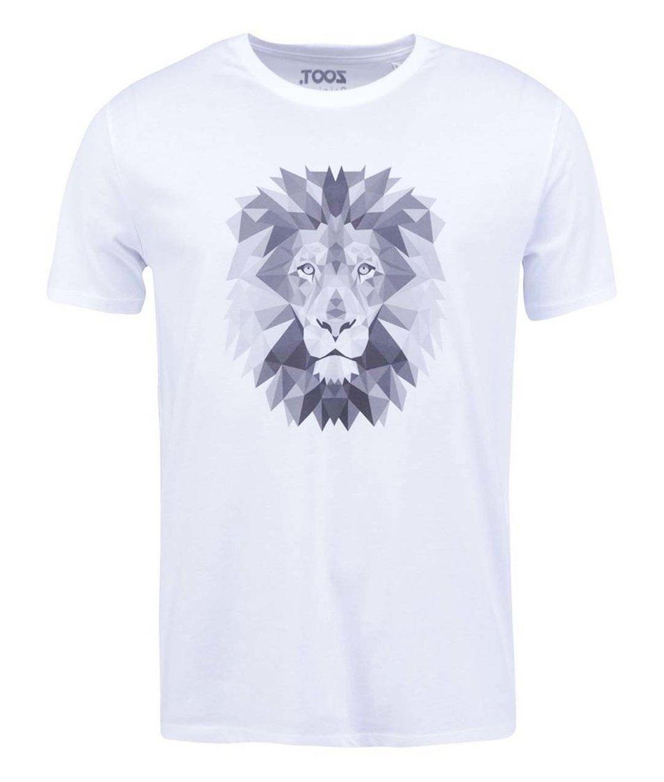 Bílé pánské triko ZOOT Originál Lev