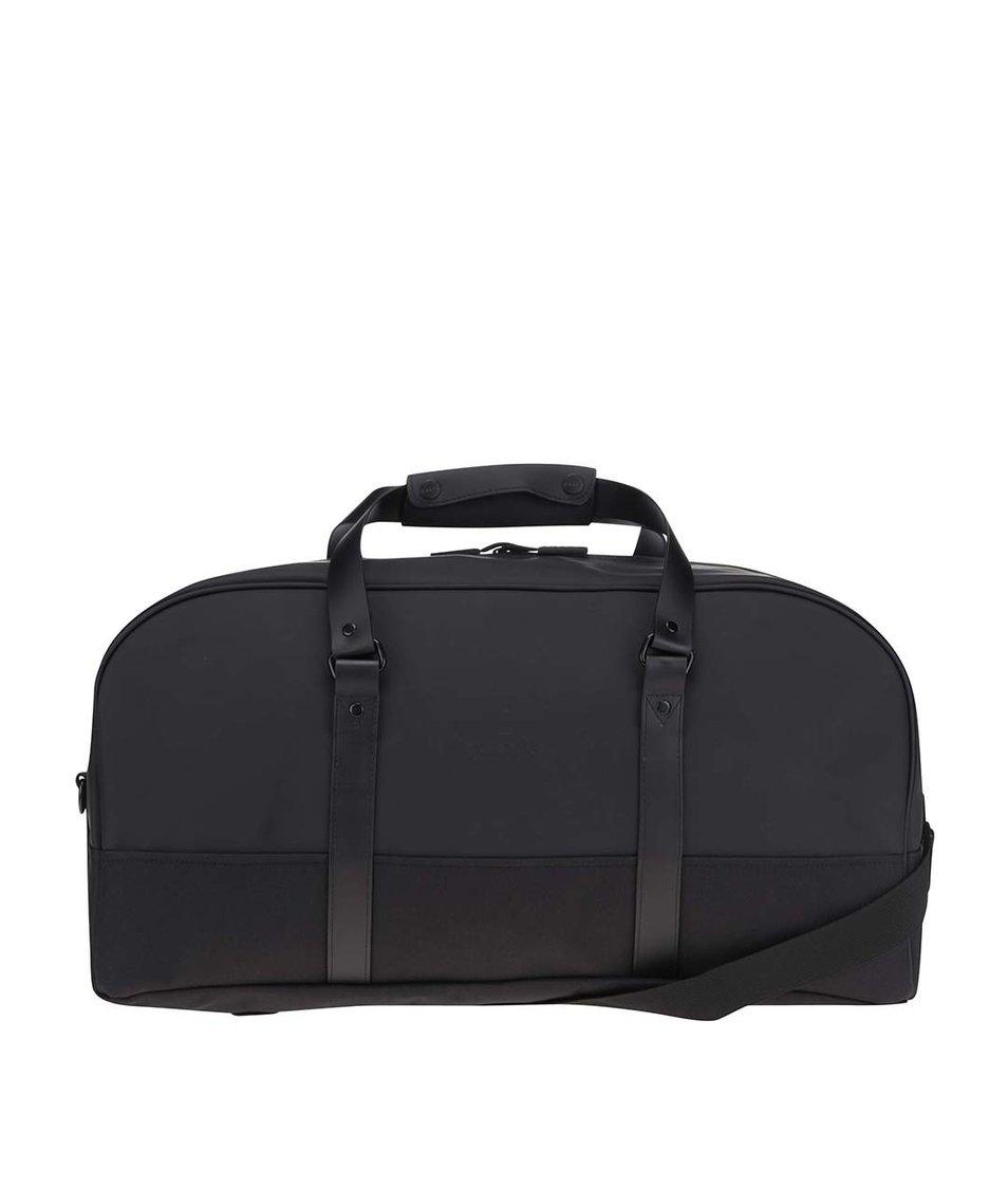 Černá oválná cestovní taška RAINS