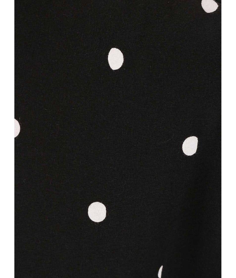 Černé šaty s puntíky Cheap Monday Capsule