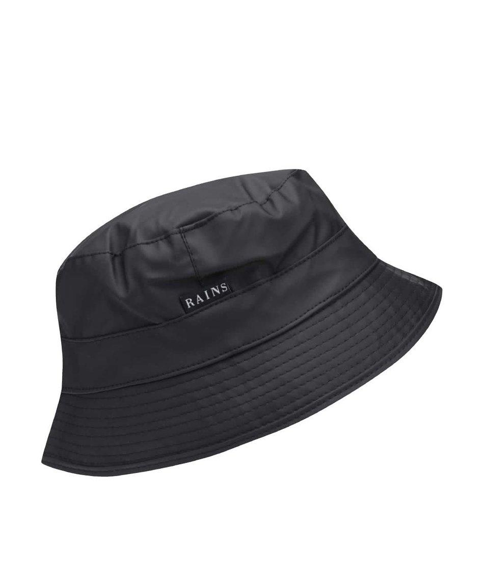 Černý klobouk Rains