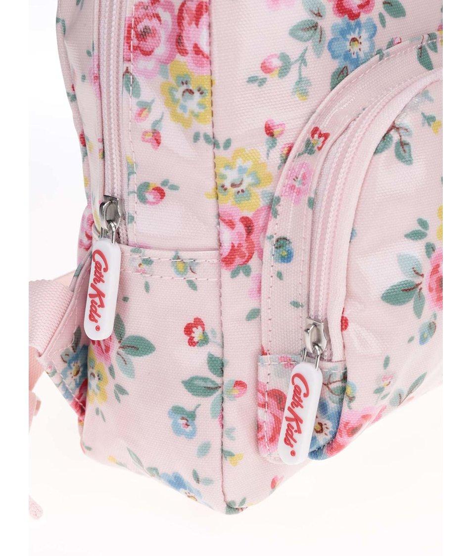 Holčičí růžový batoh s potiskem květin Cath Kidston