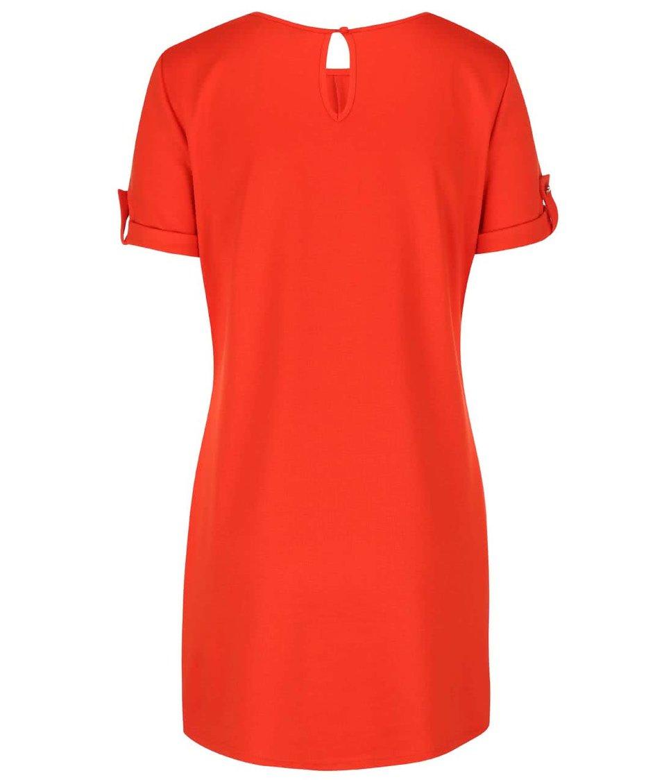 Oranžové šaty Dorothy Perkins